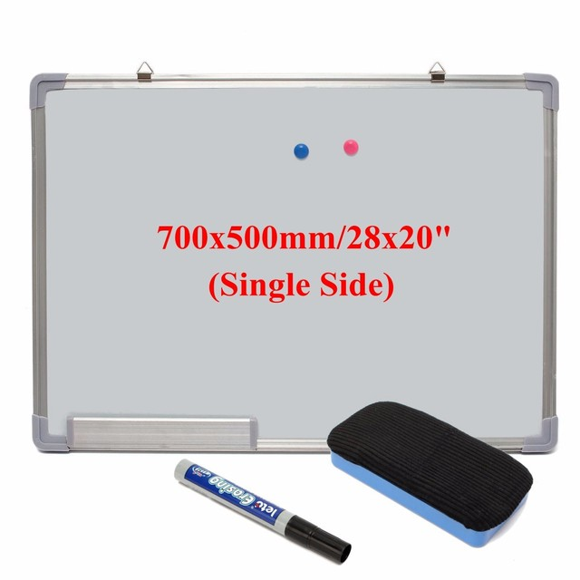 new single side magnetic dry erase portable office whiteboard