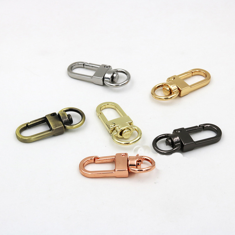 Meetee 10pcs Metal Dog Buckle Spring Snap Clasp Hook KeyDIY Bag Decor Hang Buckles Hardware Leather Carfts Accessories BD441 in Buckles Hooks from Home Garden