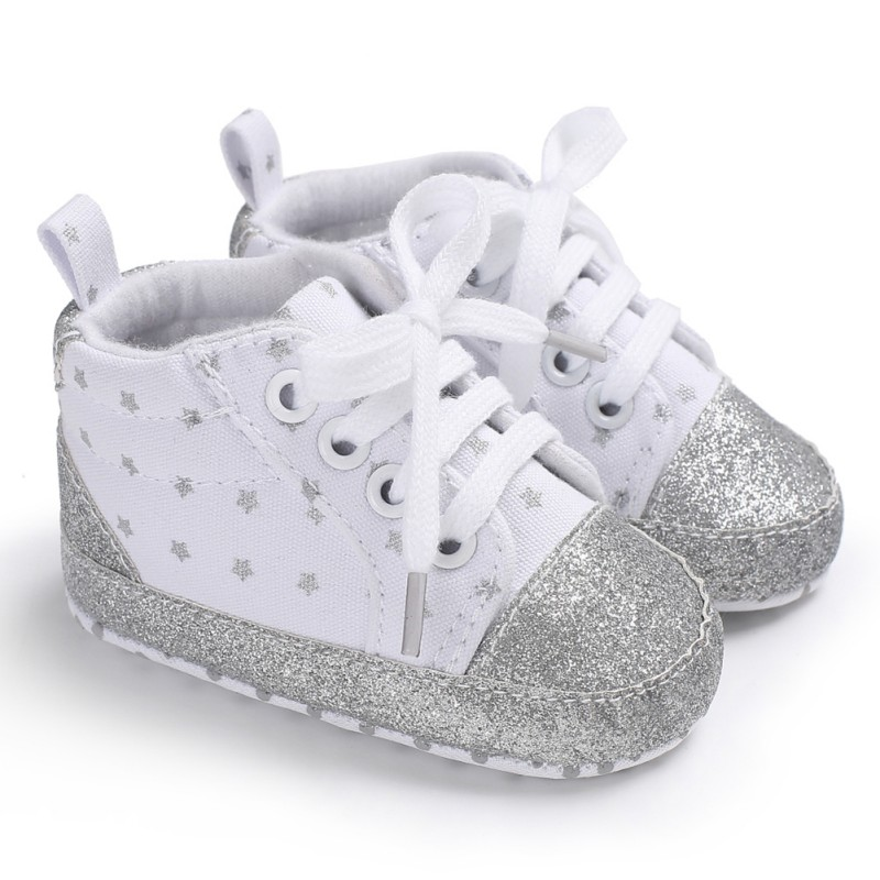 Baby Girl Shoes Cotton Round Lit Baby Shoes First Walkers Fashion Autumn Canvas Shoes For Princess Prewalker