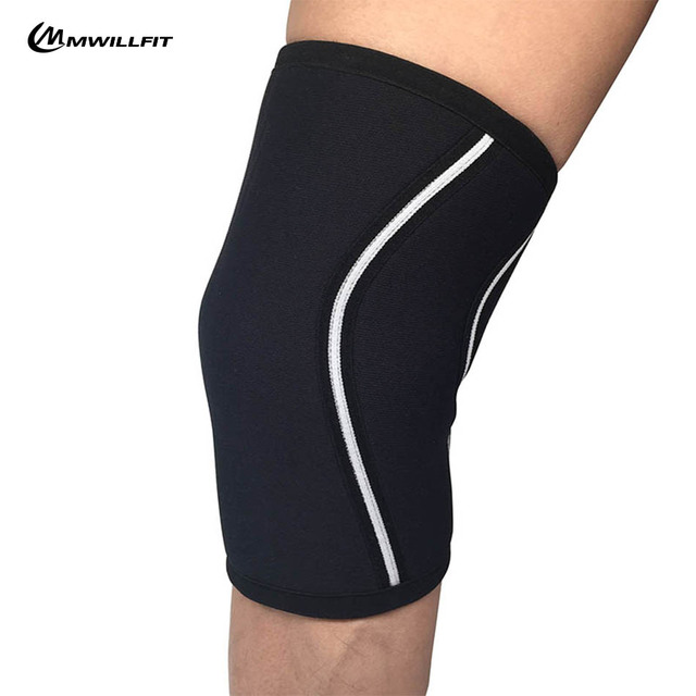 33de58c22c 1 Pair Knee Sleeves 7mm Neoprene Knee Support for Cross Training Gym Weightlifting  Brace Cap Support Compression Bodybuilding