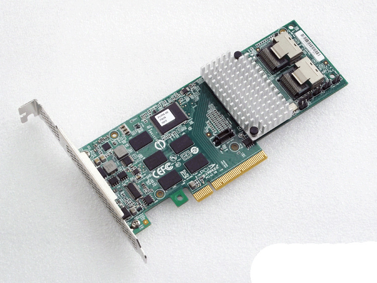 LSI MegaRAID Internal Low-Power SATA/SAS 9261-8i 6Gb/s PCI-Express 2.0 512MB Onboard Memory RAID Controller Card, Single raid controller for 370 5403 02 512mb