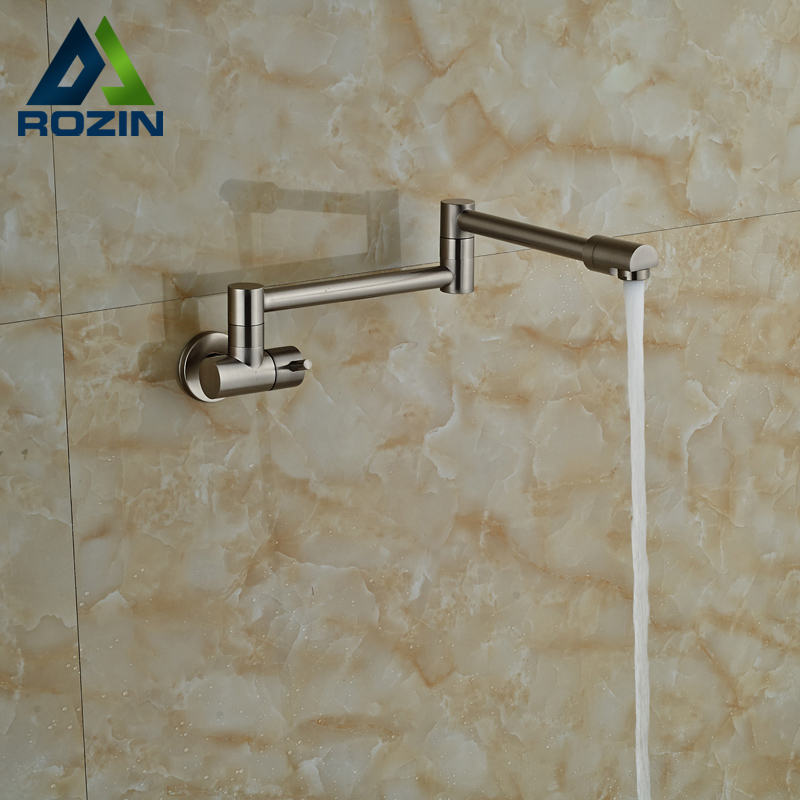 Wall Mounted Cold Water Bathroom Kitchen Sink Faucet
