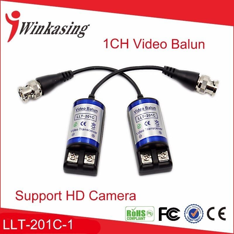 10pairs Free shipping  Twisted BNC CCTV Video Balun Transceivers UTP Balun BNC Cat5 CCTV UTP passive Video Balun transiver