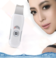 2017 Ultrasonic Skin Scrubber Cleanser Face Cleaning Acne Removal Facial Spa Vibration Massager Ultrasound Peeling Clean