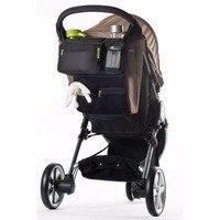 Multifunctional Baby Stroller Baby Pram Buggy Cart Bottle Hanging Basket Storage Bag Stroller Accessories baby stroller bag