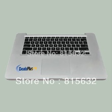 NEW FOR Macbook pro A1286 Palmrest TopCase Backlihgt US Keyboard with touchpad 2010