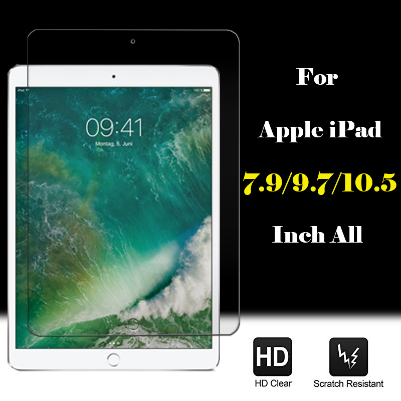 """3 X Clear Screen Protector Film for iPad 6th Gen 9.7/"""" 2018 5th Gen 9.7/"""" 2017"""