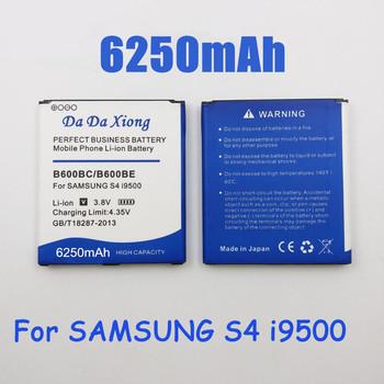 6250mAh B600BC B600BE bateria do samsunga galaxy S4 i9295 i9505 i9502 i9508 i9500 i9150 i9152 i9158 i9506 G7100 tanie i dobre opinie da da xiong Powyżej 5000 mAh ROHS Kompatybilny