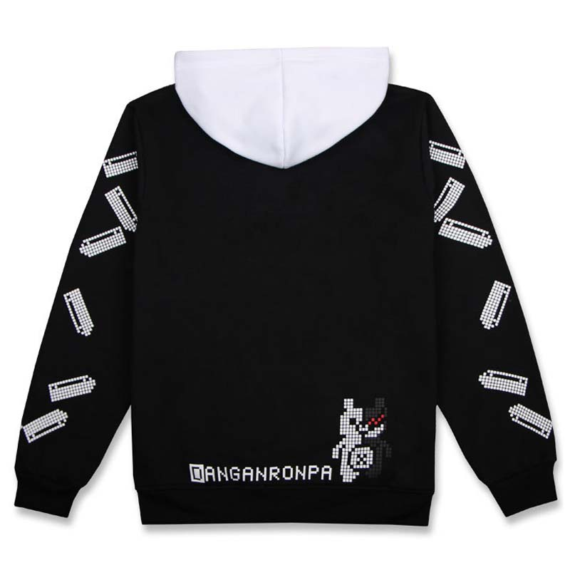 Black & White unisex Embroidered Ladybird Halloween Sweatshirt EyXt6u