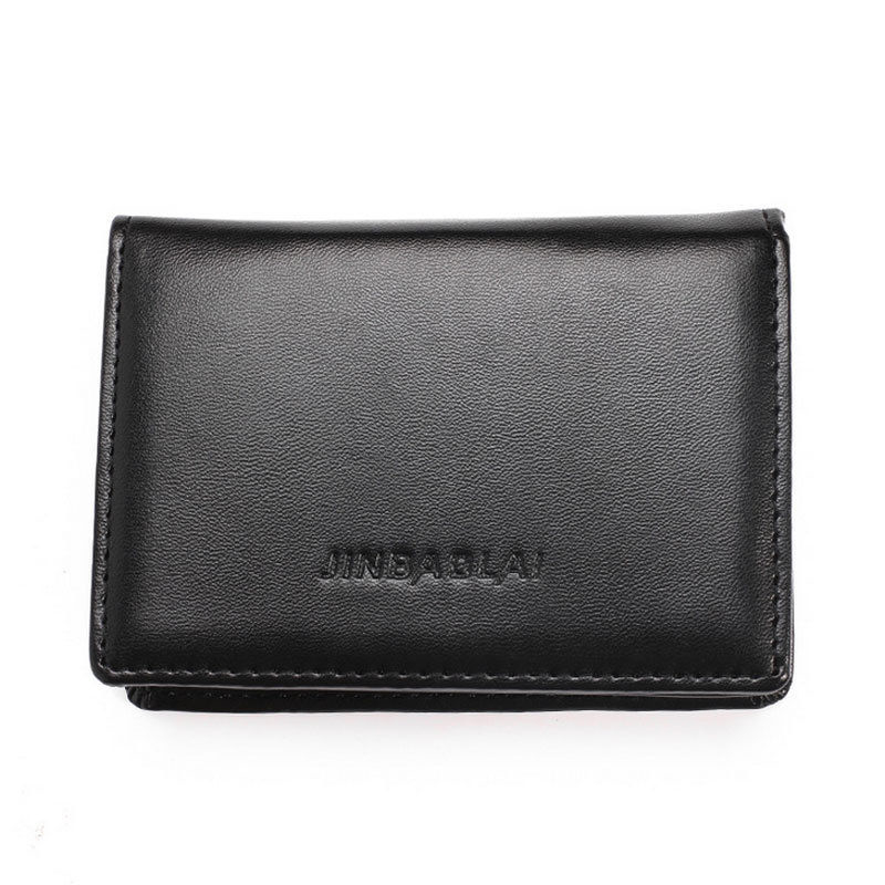 Mens Wallet Men Fashion Leather Credit Card Holder Wallets Bifold ID Cash Purse Solid Design Vintage Style
