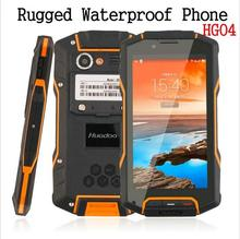 Guophone HG04 IP68 Shockproof Waterproof original Quad Core rugged Android Explosion-proof Smartphone MobilePhone GPS RAM Runbo