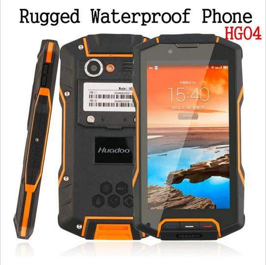 Huadoo HG04 IP68 Shockproof Waterproof original Quad Core rugged Android Explosion proof Smartphone MobilePhone GPS RAM