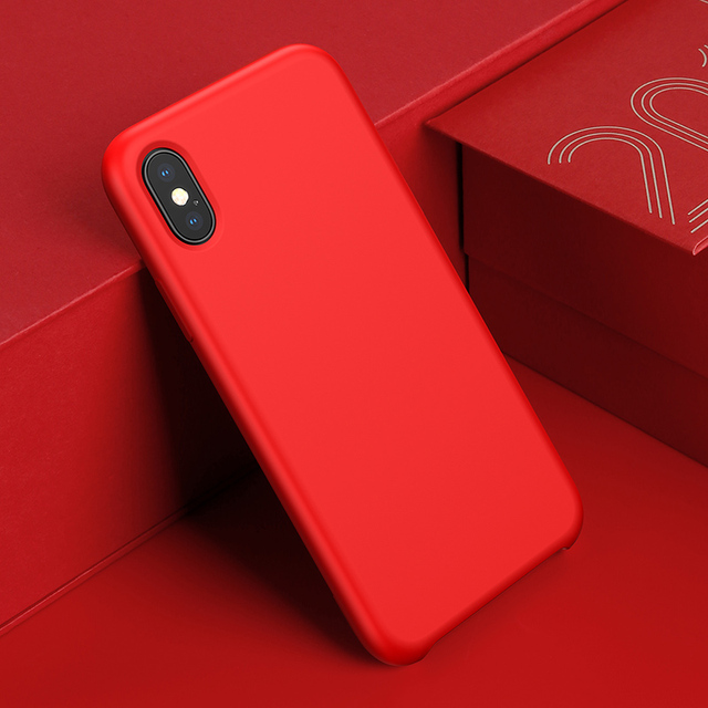 Dirt Resistant Silicone Case for iPhone