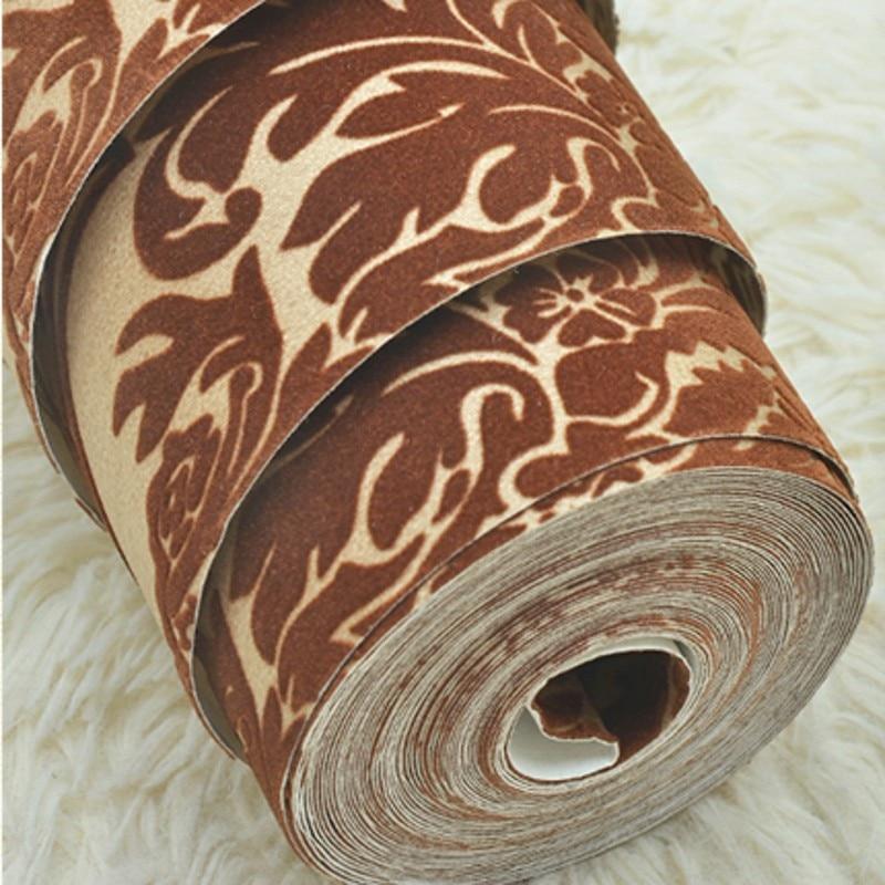 ФОТО beibehang papel de parede para quarto Simple stripes velvet wallpaper for walls 3 d 3d wall paper roll home decor papier peint