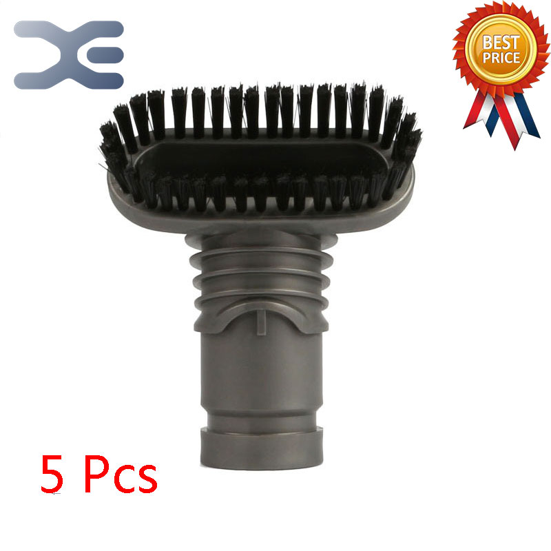 5Pcs High Quality Adaptation For Dyson Vacuum Cleaner Accessories Suction Brush Small Brush DC58 DC59 DC62 V6 DC35 DC45 5pcs adapter for dyson vacuum cleaner accessory two in one head brush dc35 dc45 dc58 dc59 dc62 v6 vacuum cleaner parts