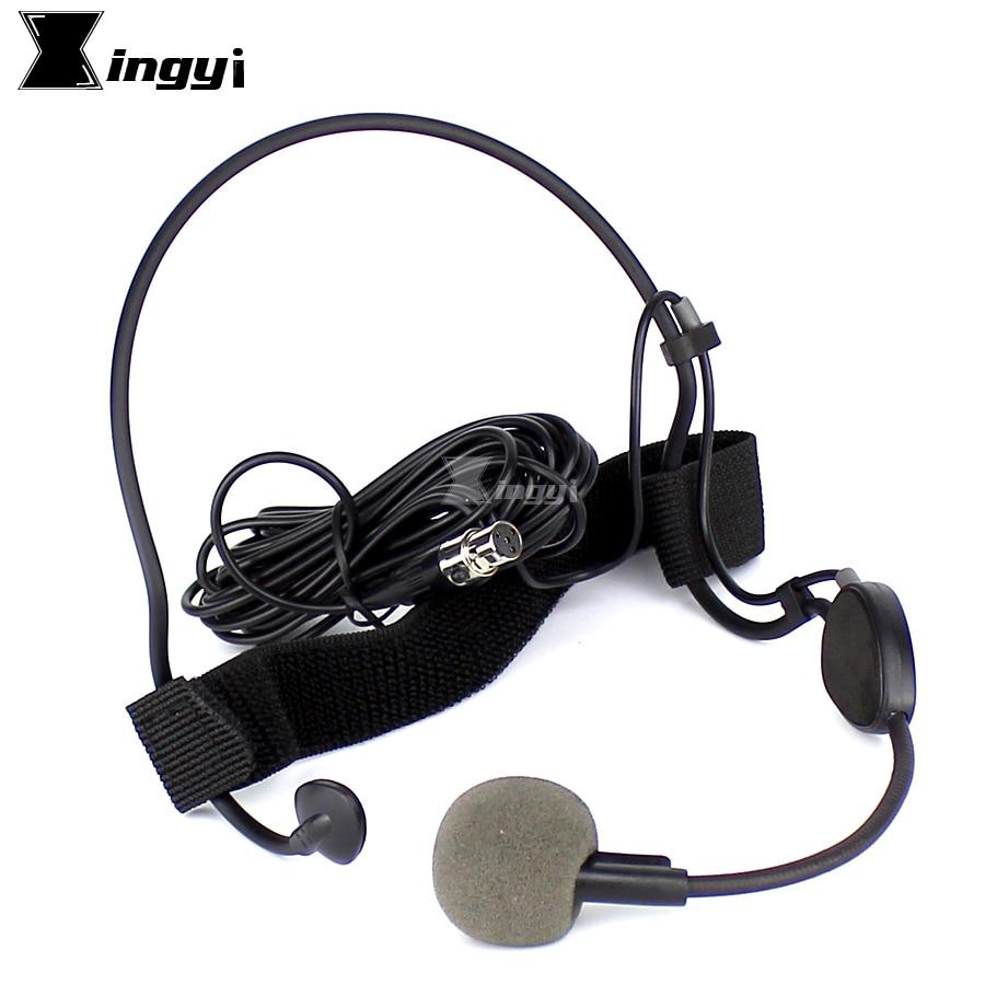 professional mini xlr 4 pin ta4f vocal dynamic mic headset microphone for shure wh20tqg uhf. Black Bedroom Furniture Sets. Home Design Ideas