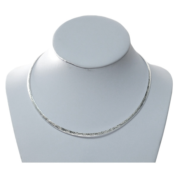 Beadsnice Silver 925 Jewelry Solid Silver Choker Necklace Elegant Collar Necklace Handmade italian collar Necklaces ID31837