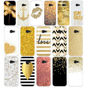 Cover Phone-Case Glitter Gold Yellow Soft-Silicone A3 Samsung Galaxy A8 Plus for A5 110aq-Amp