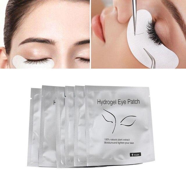 3/6/10 Pairs Grafting Eyelash Pad Moisturizing Eye Mask Gel Patch Lint Free Eye Lashes Extension Tool  Useful Beauty Makeup Tool False Eyelashes