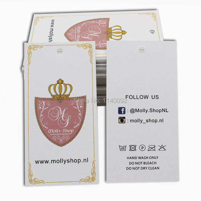 e7ccad0076b Free shipping custom clothing hang tag swing tag T-shirt jacket printed  labels women dress tags packing labels 500 pcs a lot
