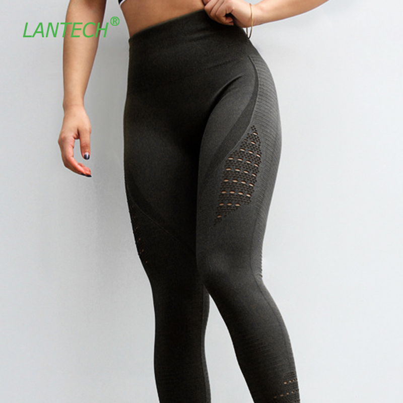 8e0a2ff35c Women Yoga Pants Sports Running Sportswear Stretchy Fitness Leggings  Seamless Tummy Control Gym Compression Tights Pants
