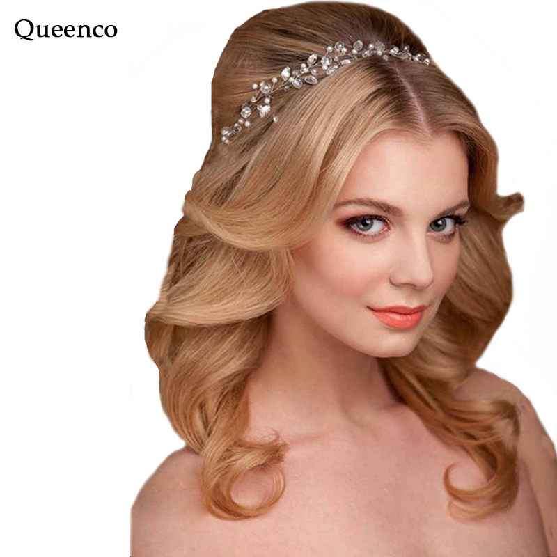 Handmade Crystal Hair Decoration Wedding Vine Headbands ...