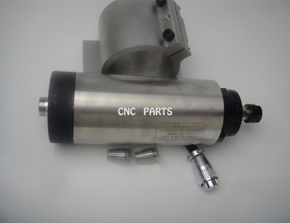 اسپیندل فرز CNC ER20 2.2KW اسپیندل خنک کننده هوا + 1 پشتیبانی اسپیندل همسان