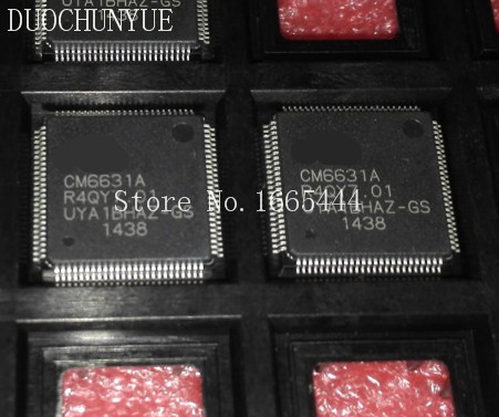 Free Shipping! CM6631 CM6631A QFP100 5pcs/lots  new and Original in stock