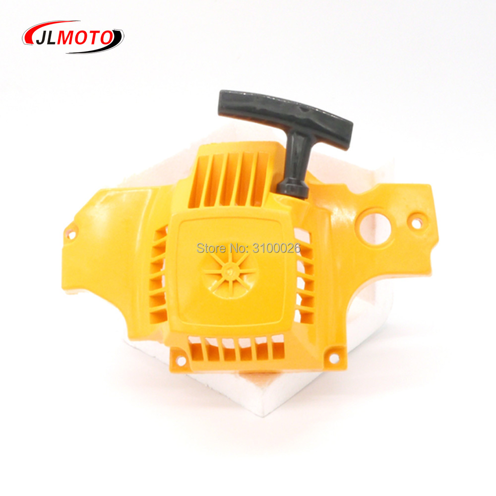 1pc P350 chainsaw starter Fit For Partner 350 351 Gasoline Chain Saw Petrol saw parts pull recoil starter