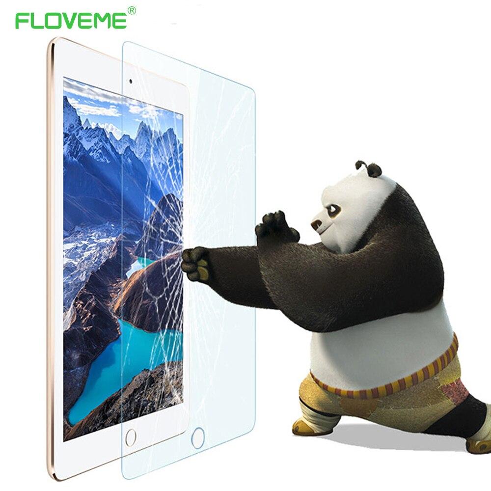 FLOVEME For iPad Air 2 Ultra Thin HD Tempered Glass Screen Protector For iPad Air / 2 For IPAD 5 6 Protector Film For iPad Air 2