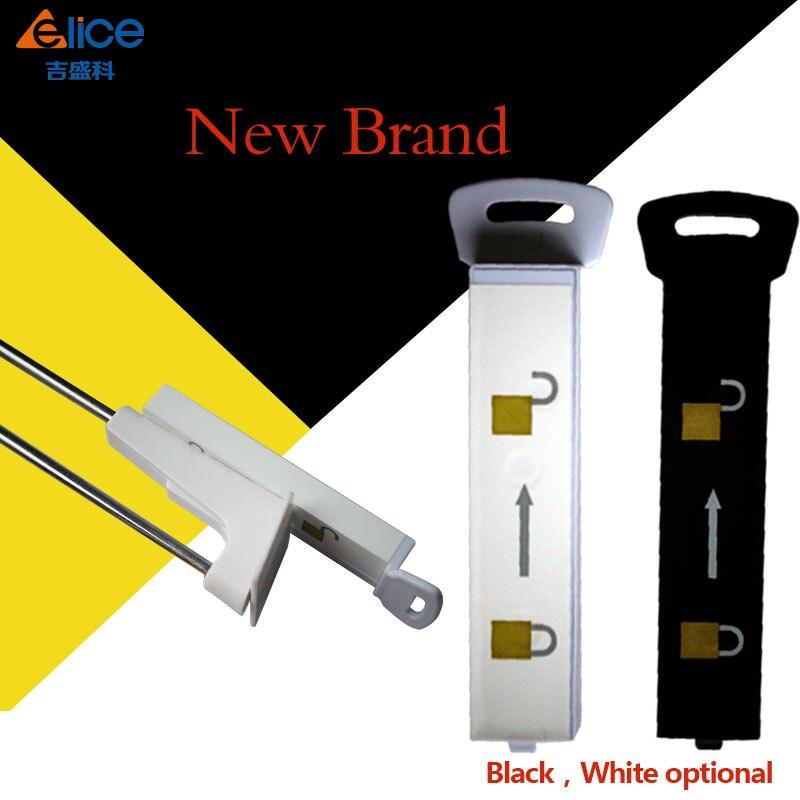 90Pcs The Black Elice Handkey EAS Display Hook Hanger Releaser Magnetic Security Detacher free shipping