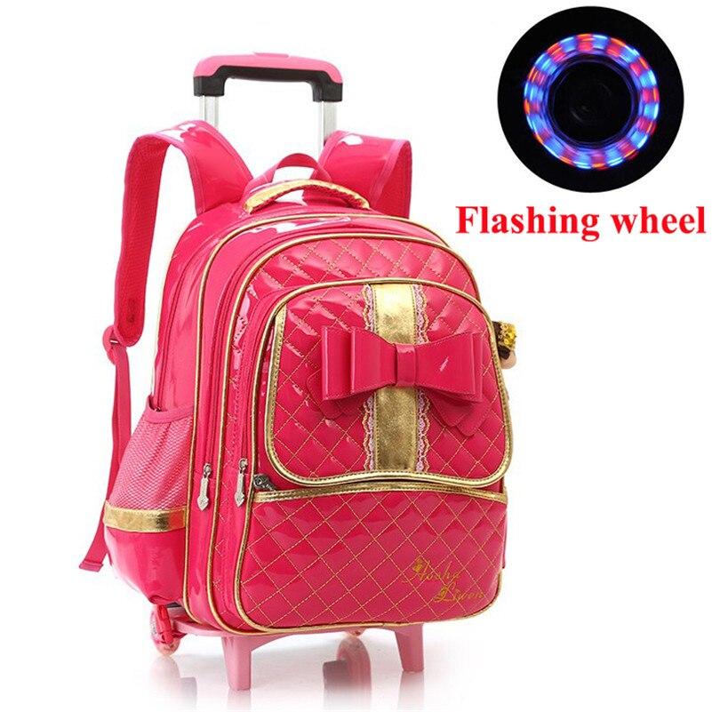 Школьные рюкзаки-тележки для девочек рюкзаки молодежные с принтом