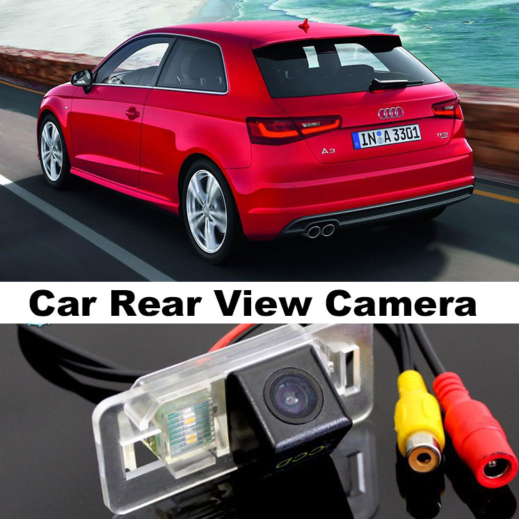 Car Camera For Audi A3 S3 RS3 8V MK3 2012~2015 High Quality Rear View Back Up Camera Supply Top Gear Fans to Use  CCD With RCA