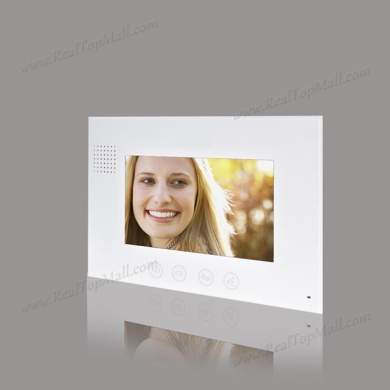 Wireless WiFi IP Video Doorphone Metal Waterproof HD Camera Video Doorbell Intercom System monitor
