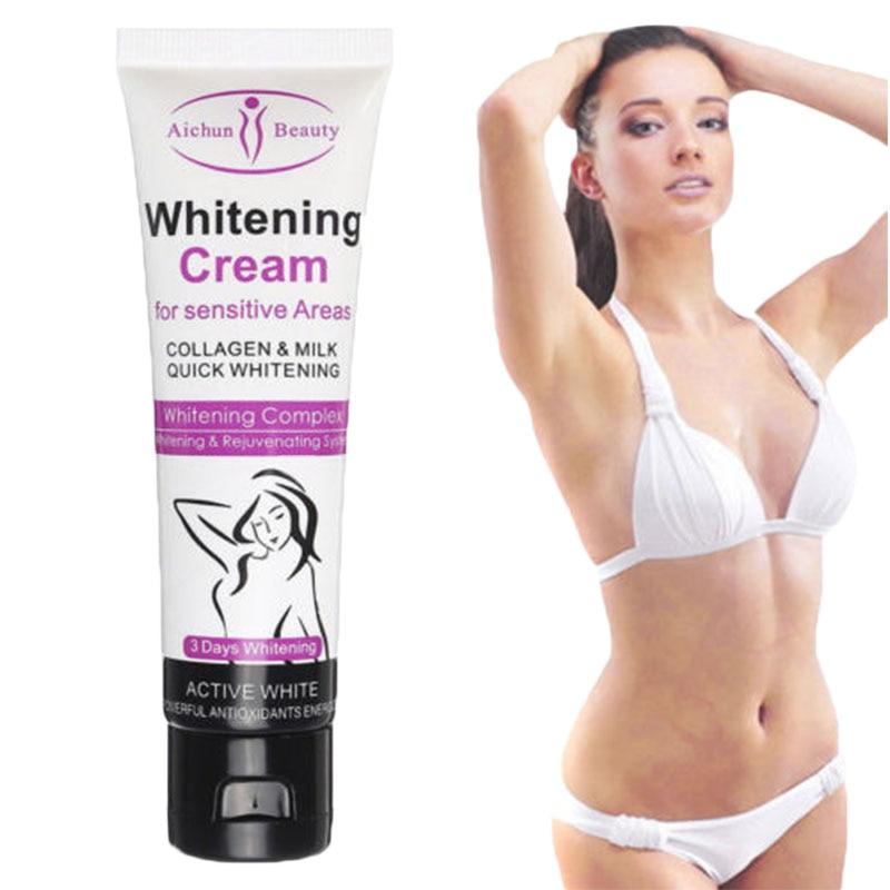 BellyLady 50G Whitening Cream For Dark Skin Armpit Elbow Lightening Bikini Underarm Thigh