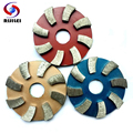 (3JKP) 3 unids/lote 3 pulgadas de Metal pulido almohadillas de pulido de diamantes de 80mm de Metal seco almohadilla de pulido de hormigón pulido de granito