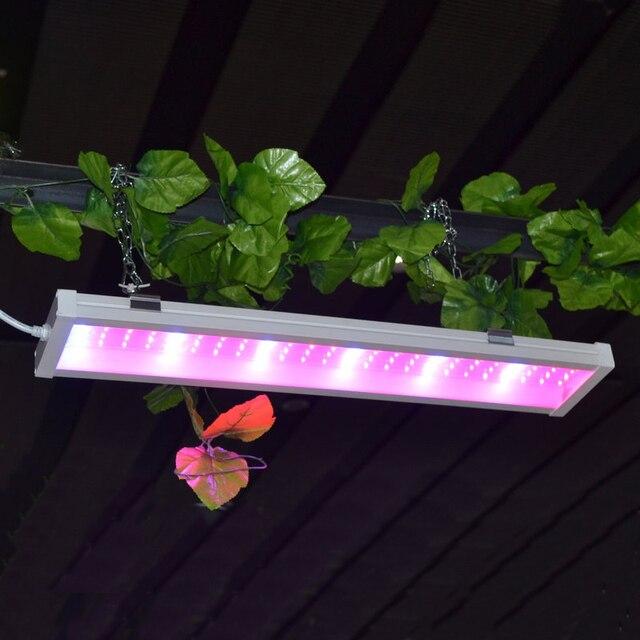 lighting for houseplants. Full Spectrum Grow Light Rectangle 120LEDS Plant Bar IP65 Long Size For Vegetable Flower Houseplants Lighting