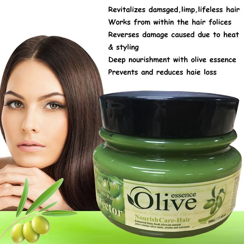 Оливковое масло от сухих волос