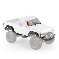AX 313B 12.3inch Wheelbase Pickup RC Car Body Shell DIY Kit for 1/10 RC Truck Crawler Axial SCX10 & SCX10 II 90046 90047 Model