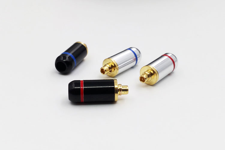 Diy mmcx standard gold plated headphone upgrade pin plug SE846 SE535 UE900 se215 se315 10pairs 20pcs