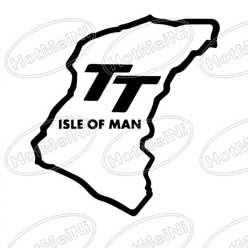 HotMeiNi New Stickers Isle Of Man TT Funny JDM DUB Car Rear Windshield Sticker For Truck Door Vinyl Decal Oem Car Sticker horse riding sticker for car rear windshield truck suv bumper auto door laptop kayak canoe art wall die cut vinyl decal 8 colors
