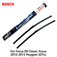 2pcs Lot Bosch Car AEROTWIN Wipers Windshield Wiper Blades Dedicated Wipers For Focus 09 Classic Focus