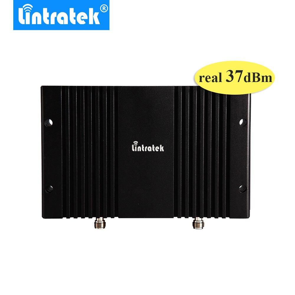 Réel 37dbm 5 W puissant GSM 900 MHz répéteur LCD affichage AGC MGC 85db Gain GSM Signal Booster 900 MHz téléphone portable répéteur de Signal #