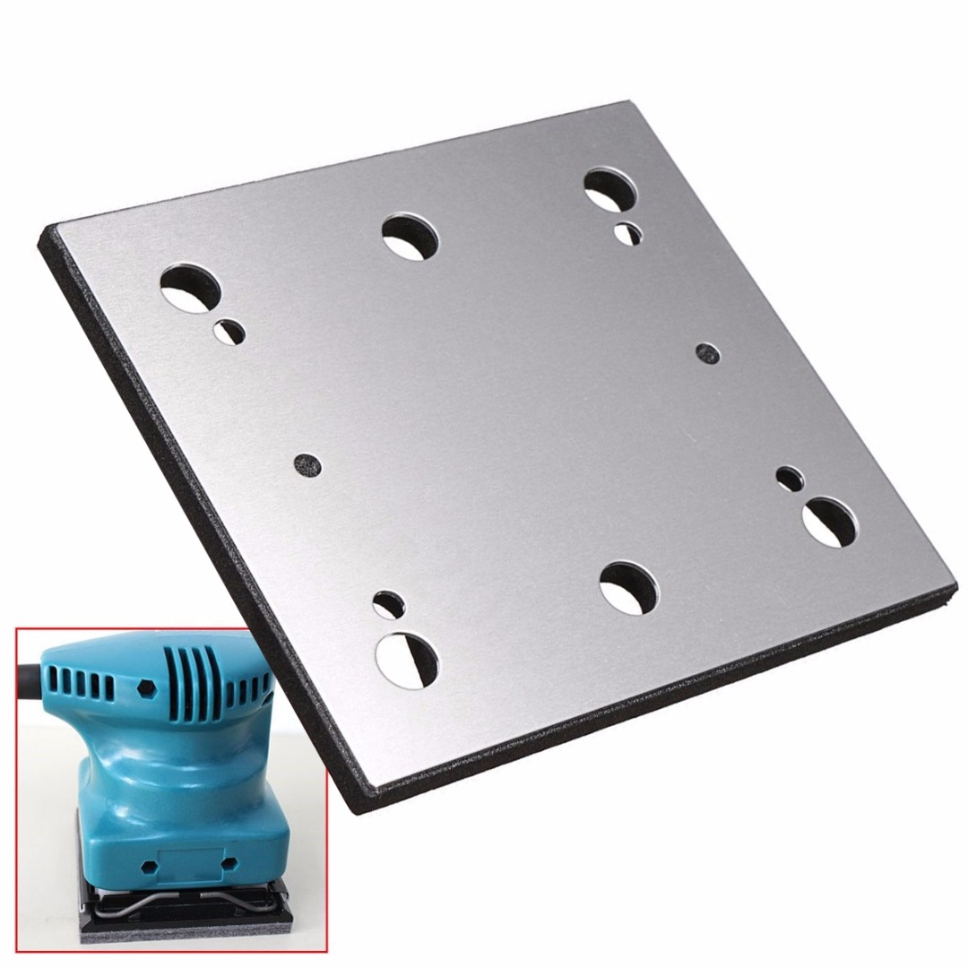1/4 Sheet Sander Pad Backing Plate For 158324-9 BO4556 Finish Replacement Accessories