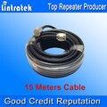 Ventas al por mayor 5D Cable 15 Metro 50 ohmios Cable Coaxial de Alta Calidad N Macho para Repetidor de Señal de Refuerzo y Antenas N Conexiones S20