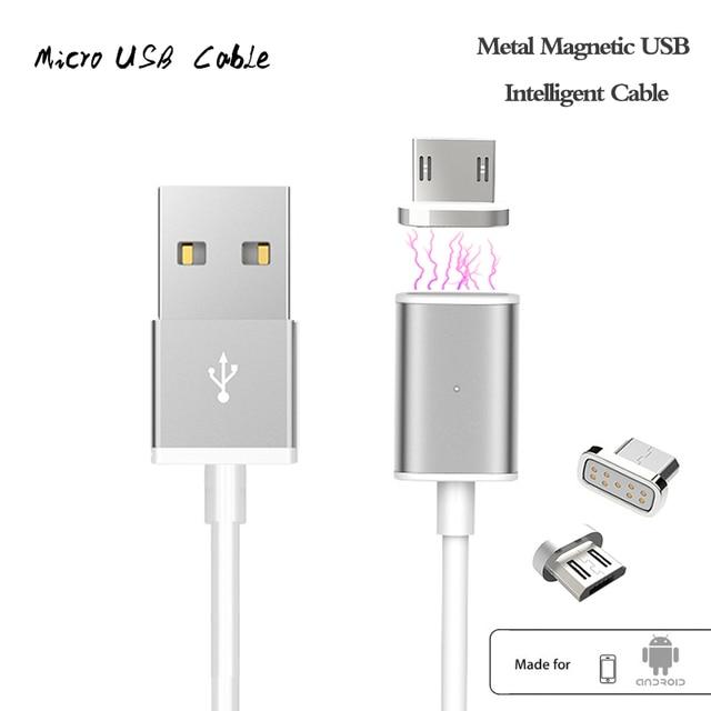 Магнитного Кабель 2А Micro USB Зарядное Устройство Кабель-Адаптер Для Samsung LG XIAOMI Lenovo HUAWEI Moto HTC Магнит Быстрой Зарядки Для Andiord