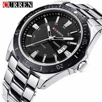 NEW CURREN Watches Men Top Brand Fashion Watch Quartz Watch Male Clock Relogio Masculino Men Army