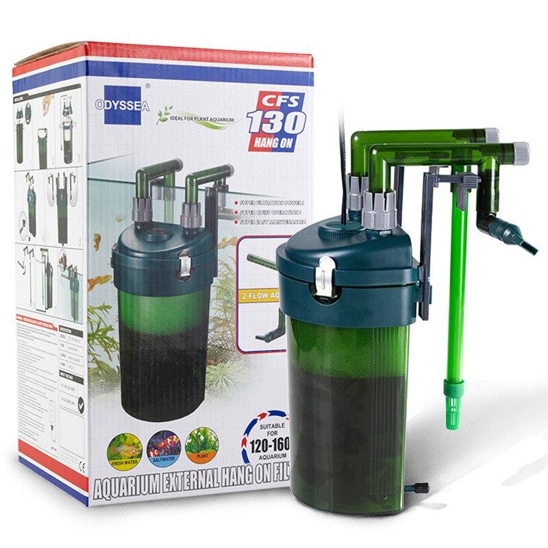 Filtre d'aquarium externe, filtre raccrocher, pompes à eau, fabricant de cascade, machine d'installation d'oxygène-super pour accessoires d'aquarium
