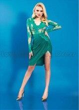 Neue ankunft eleganter schatz kurz cocktailkleider satin lace long sleeves nach maß backless cocktail dress
