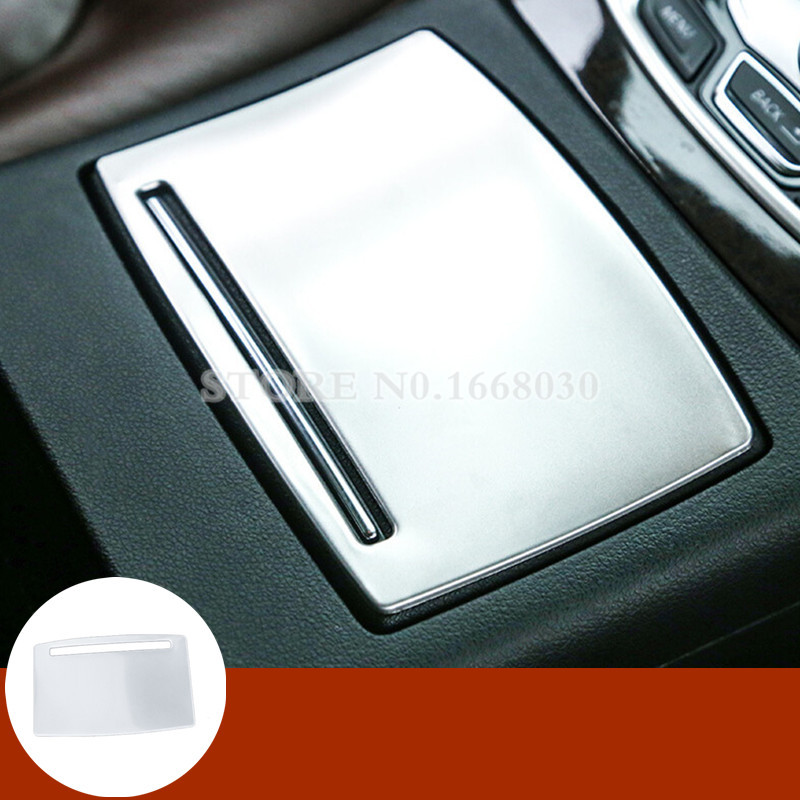 Interior Console Water Cup Holder Panel Trim Cover 1pcs